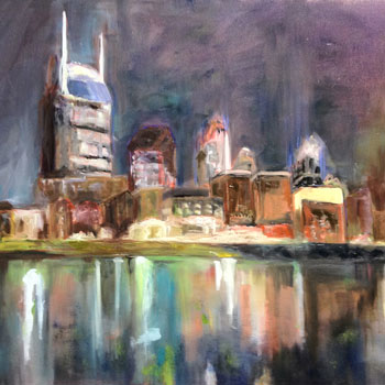 Paintings of Landscapes & City Scapes