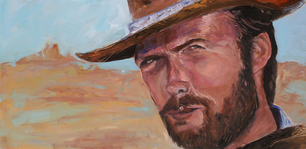 Painting: Clint