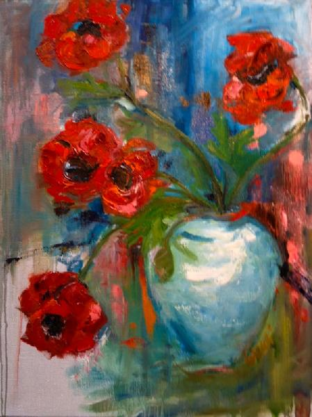 Painting: Poppies