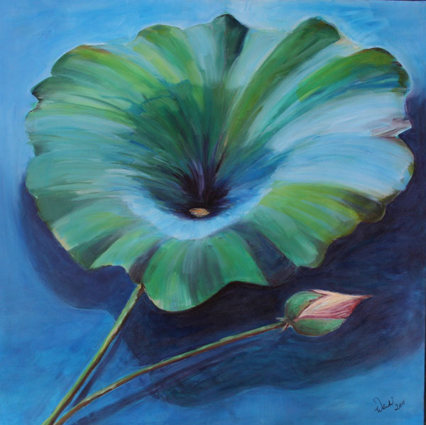 Painting: Beautiful Leaf