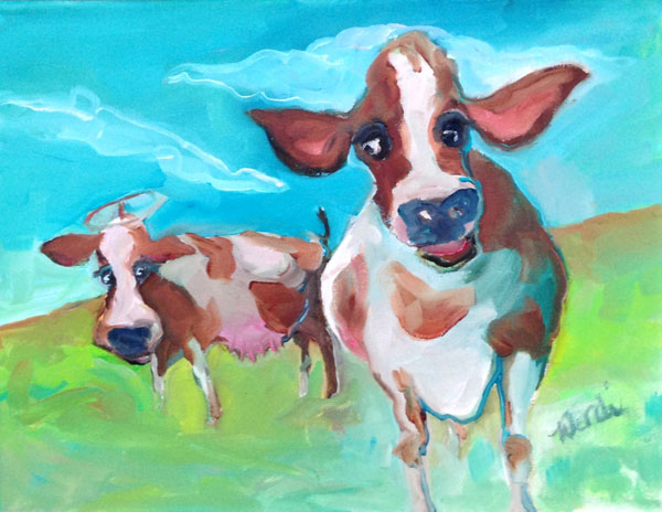 Painting: Holy Cows Jealous