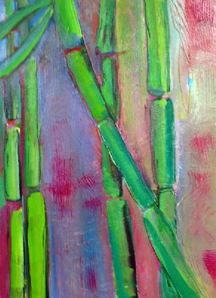 Painting: Bamboo IV