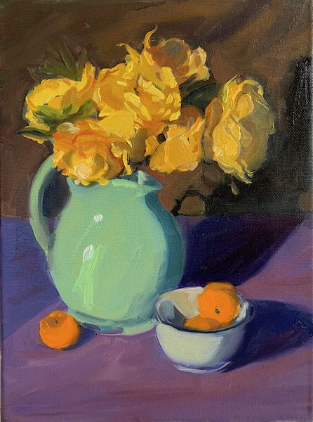 Painting:  Vase of Sunshine