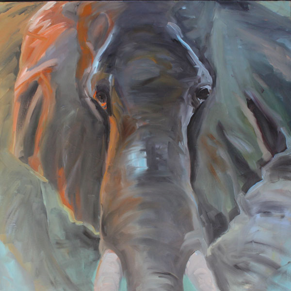 Painting: Elephant Dreams