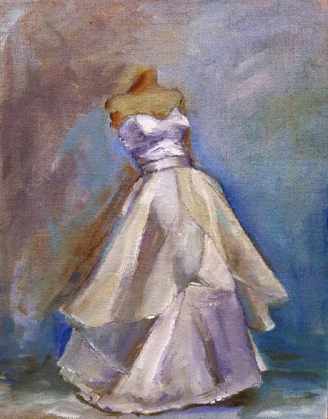 Painting: Wedding Dress