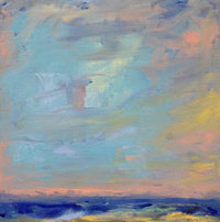 Painting: Beach Abstract