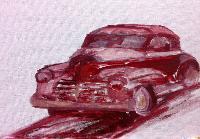 Painting: Levis Car