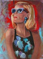 Painting: Sunstruck LA