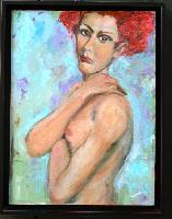 Painting: Redhead