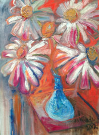 Painting: Daisies