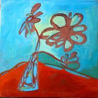 Painting: Mosaic Flowers 2