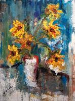 Painting: Sunflowers