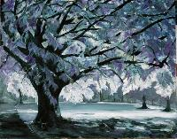 Painting: Glowing Tree