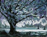 Painting: Glowing Tree