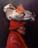 Painting: Pet Goose