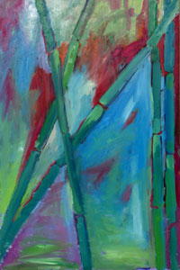 Painting: Bamboo I
