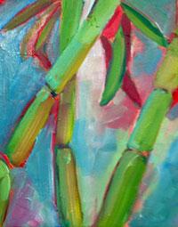 Painting: Bamboo II