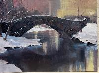 Painting: Central Park Bridge