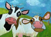 Painting: Holy Cows 2019