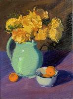 Painting:  Vase of Sunshine