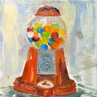Painting: Gum Balls