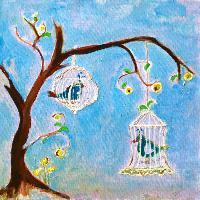 Painting: Royal Birds