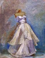 Painting: Wedding Dress